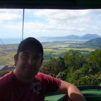 The spectacular vistas from the Skyrail high above the Rainforest